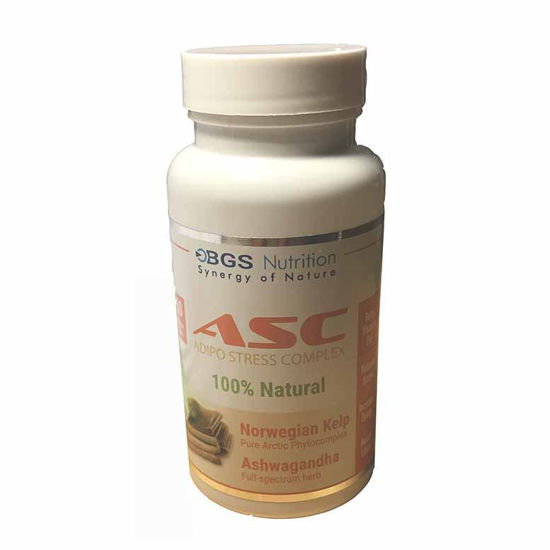 ASC Adipo Stress kompleks, 60 kapsul