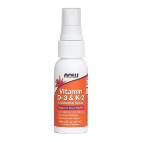 Slika Now vitamin D-3 & K2 pršilo, 59 mL
