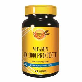 Slika Natural Wealth vitamin D 1000 protect, 50 kapsul