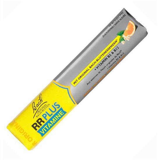 Bach Rescue RR Plus vitaminski bonboni, 10 bonbonov
