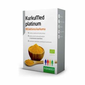 Slika KurkuMed platinum – BioAktivna kurkuma, 30 kapsul