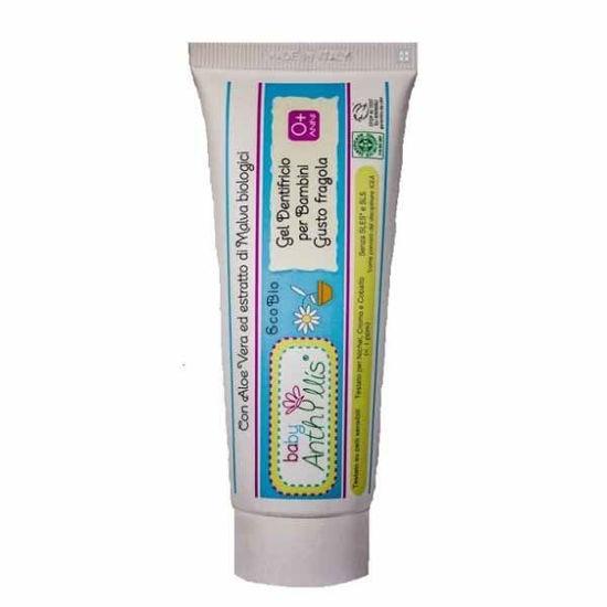Anthyllis naravna zobna pasta za otroke jagoda