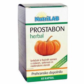 Slika Nutrilab Prostabon herbal, 60 vegetarijanskih kapsul
