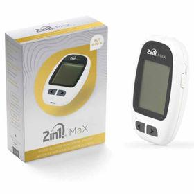 Slika 2in1. MaX merilec krvne glukoze, 1 set