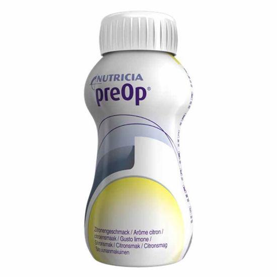 PreOp prehrana za pred kirurškim posegom z okusom limone, 4 x 200 mL