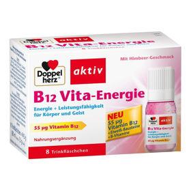 Slika Doppelherz Aktiv B12 Vita-Energie - malina, 8 ampul