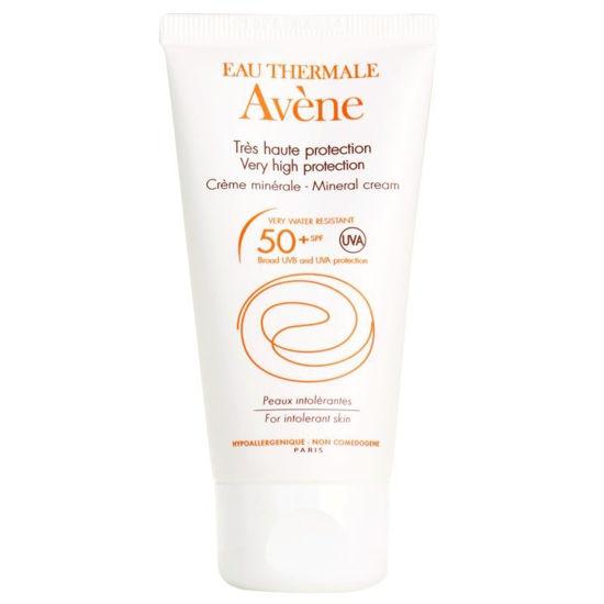 Avene Sun mineralno zaščitno mleko z ZF50, 100 mL
