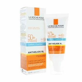 Slika La Roche Posay Anthelios XL Dry Touch gel krema za obraz z ZF50+, 50 mL