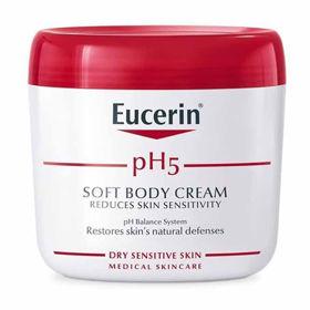 Slika Eucerin pH5 krema za občutljivo kožo telesa - lonček, 450 mL