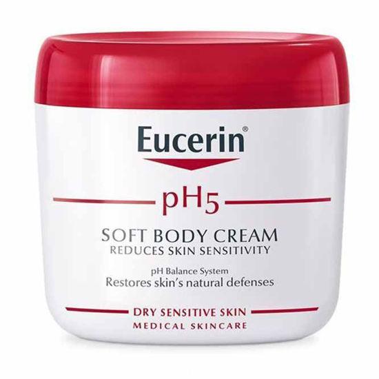 Eucerin pH5 krema za občutljivo kožo telesa - lonček, 450 mL