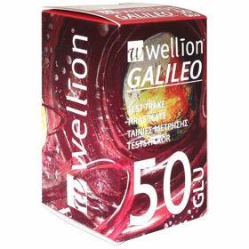 Slika Wellion Galileo merilni lističi za glukozo, 50 lističev