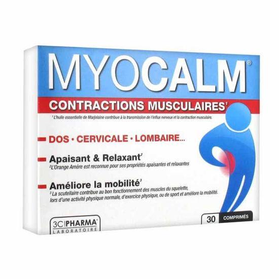 Myocalm - mišice, krči, 30 tablet