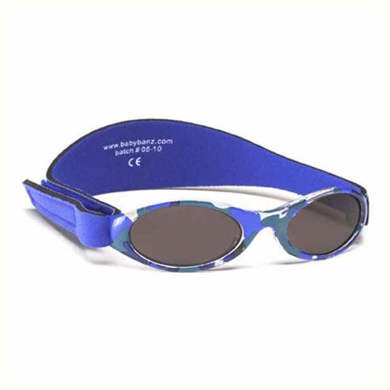 Baby Banz Adventure camo modra otroška sončna očala do 2 let
