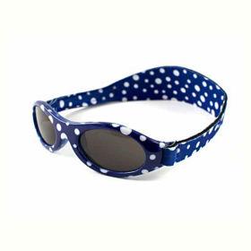 Slika Baby Banz Adventure modra pikčasta sončna očala za otroke od 2 do 5 let