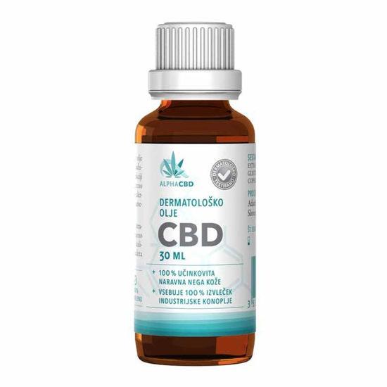 Alpha CBD dermatološko olje, 30 mL