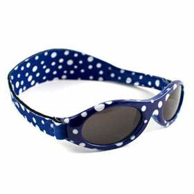 Slika Baby Banz Adventure modro pikčasta sončna očala za otroke do 2 let