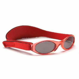 Slika Baby Banz Adventure rdeča sončna očala za otroke od 2 do 5 let