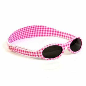Slika Baby Banz Adventure roza karo sončna očala za otroke do 2 let