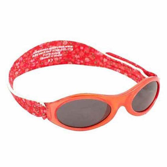 Baby Banz Adventure rdeče rožice otroška sončna očala od 2 do 5 let