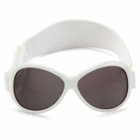 Slika Baby Banz Retro bela sončna očala za otroke do 2 let