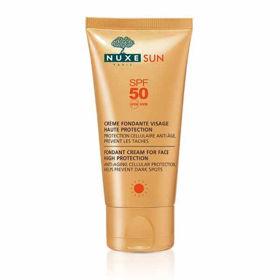 Slika Nuxe Sun topljiva krema za zaščito pred soncem ZF 50, 50 mL