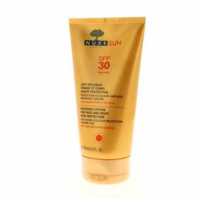 Slika Nuxe Sun slastno mleko za obraz in telo z ZF30, 150 mL