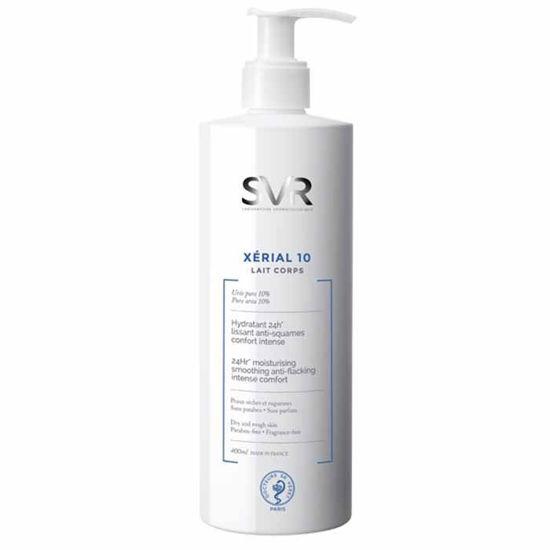 SVR Xerial 10 mleko proti luskanju kože, 400 mL