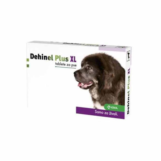 Dehinel Plus XL tablete za velike pse, 12 tablet