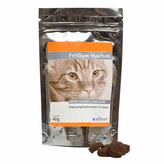 FeliGum Hairball priboljšek za mačke, 40 mg