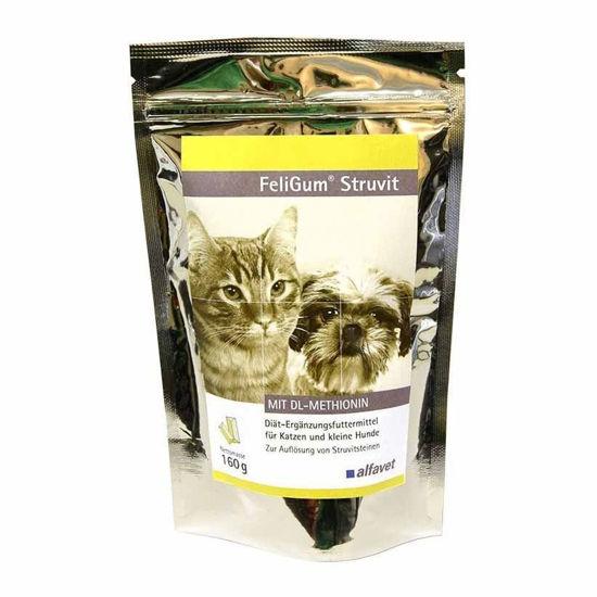 Feligum Struvit za mačke in manjše pse, 80 okusnih priboljškov