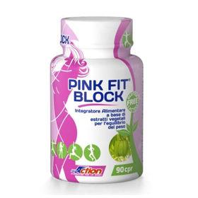 Slika Pink Fit Block proti maščobam, 90 kapsul