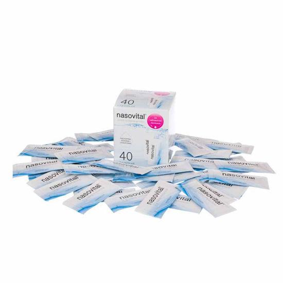Nasovital Swish Stix sol za pripravo raztopine za izpiranje nosu, 40x3 g