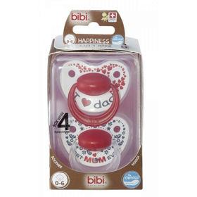 Slika Bibi Duo Premium Dental tolažilna duda, 2 dudi
