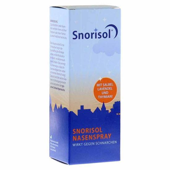 Snorisol ustno pršilo proti smrčanju,  22,5 mL