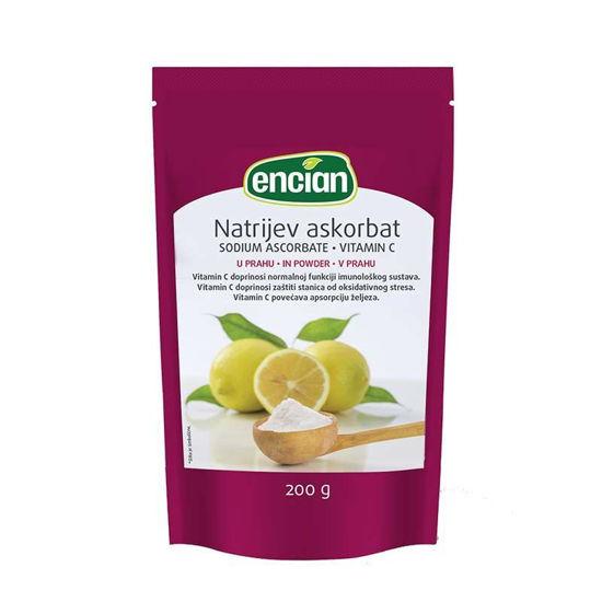 Encian Natrijev Askorbat vitamin C, 200 g