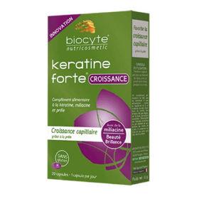 Slika Biocyte Keratin Forte Croissance rast las, 20 kapsul