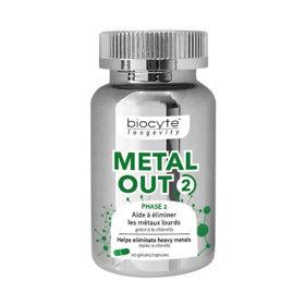 Slika Biocyte Metal OUT 2, 90 kapsul