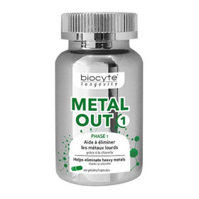 Slika Biocyte Metal OUT 1, 90 kapsul