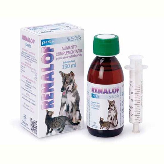 Renalof Pets dodatek k prehrani za domače živali, 150 ali 12x30 mL