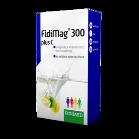 Slika FidiMag 300 Plus C, 2x20+10 šumečih tablet GRATIS