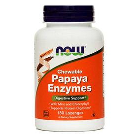 Slika Now papaja encimi, 180 tablet