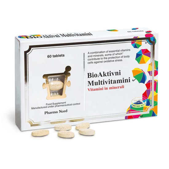 Pharma Nord bioaktivni multivitamini, 60 tablet