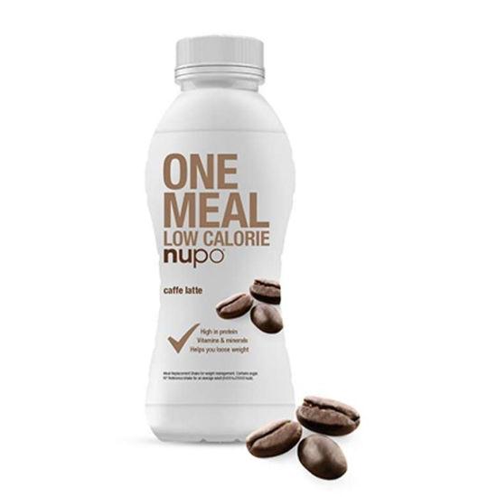 Nupo nadomestilo za posamezni obrok hrane v tetrapaku z okusom bele kave, 330 mL