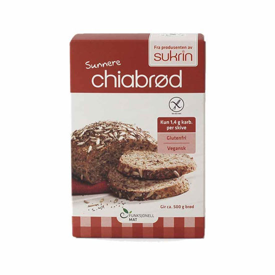Sukrin Bread Mix s chio in konopljinimi beljakovinami, 250 g