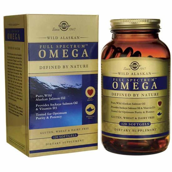 Solgar Wild Alaskan Full Spectrum Omega, 120 softgel kapsul