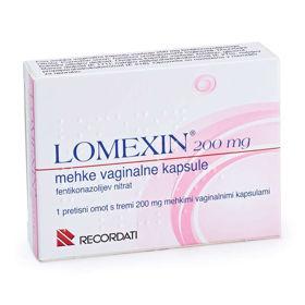 Slika Lomexin vaginalne kapsule 200  ali 600 mg
