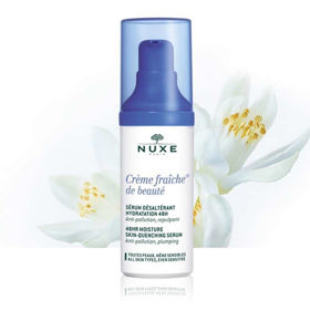 Slika Nuxe Creme Fraiche Riche 48-urno vlažilno pomirjujoči serum, 30 mL
