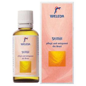 Slika Weleda olje za dojke pri dojenju, 50 mL