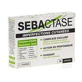 Slika Sebactase za kožo, 30 tablet