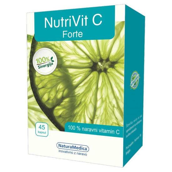 NutriVit C Forte, 45 kapsul